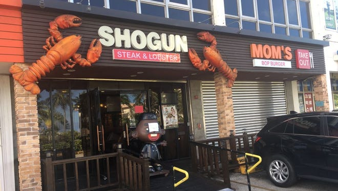 Shogun and Mom's Bop Burger, located in the Manhattan Plaza in Tumon, were reopened after passing inspections on March 26.