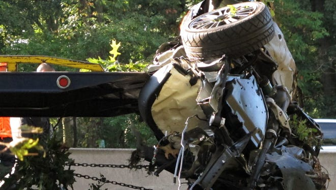 A 2012 crash in West Hempstead, N.Y., in which the teen driver had smoked marijuana.