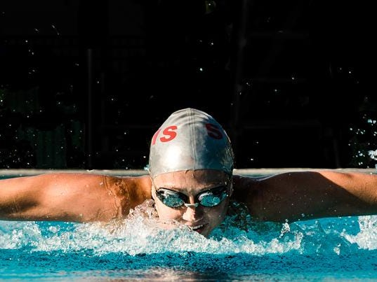 Station Camp's Riley Gaines will compete in the 100-meter freestyle at the U.S. Olympic Swimming Team Trials in Omaha, Neb., next week.