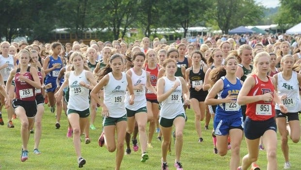 Smoky Mountain's girls team was part of last season's WNC Cross Country Carnival.