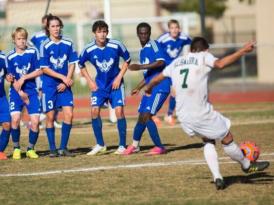 Alhambra boys soccer falls to Sandra Day O'Connor High School