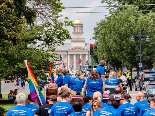 PC - Iowa City Pride Parade, June 20, 2015