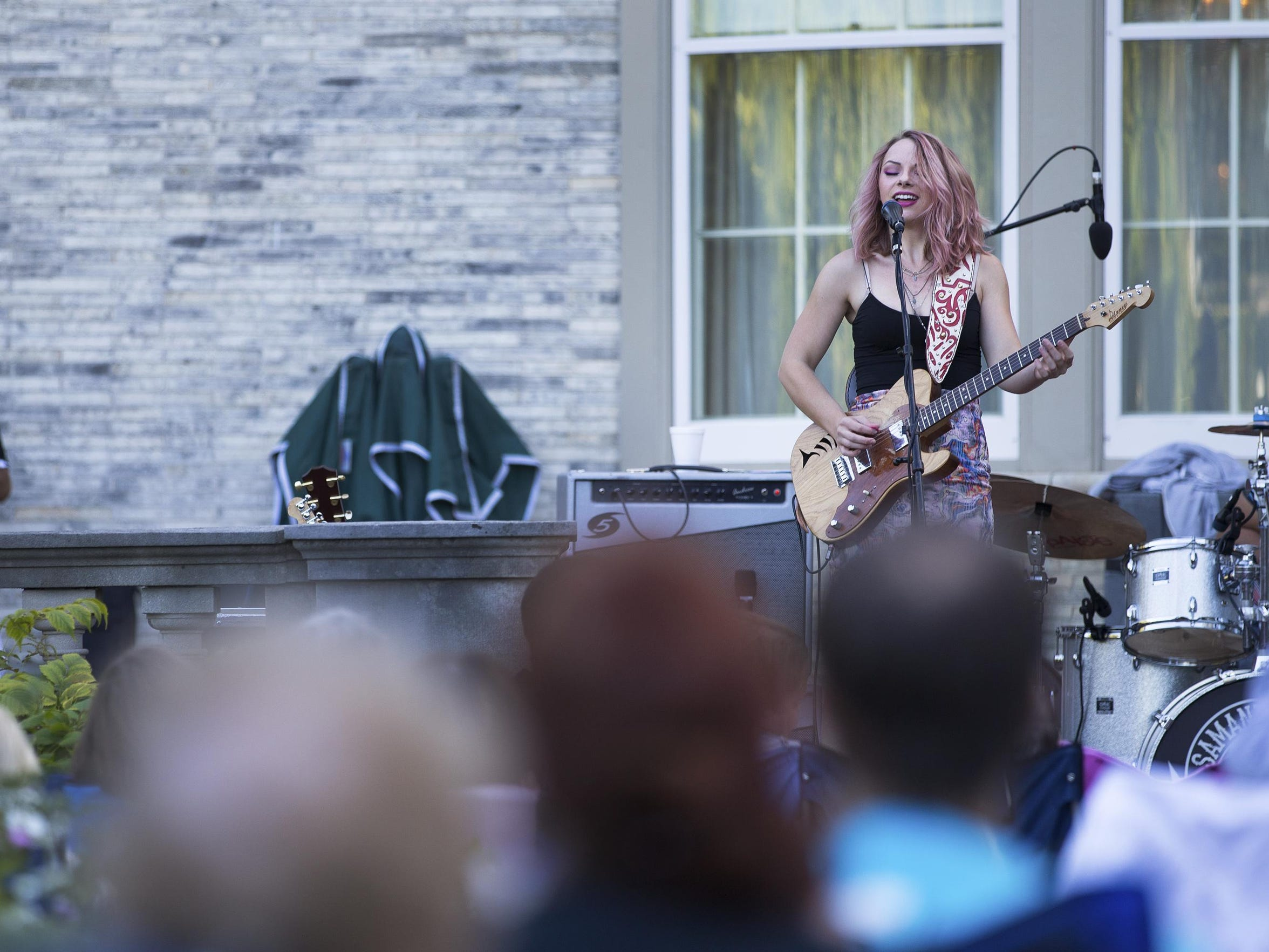 Samantha Fish performs as part of the Garden Vibes