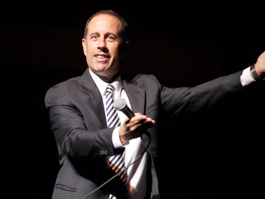 Jerry Seinfeld performs at NJPAC in Newark on Dec. 4.