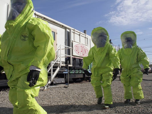 Title: Chemical emergency drill