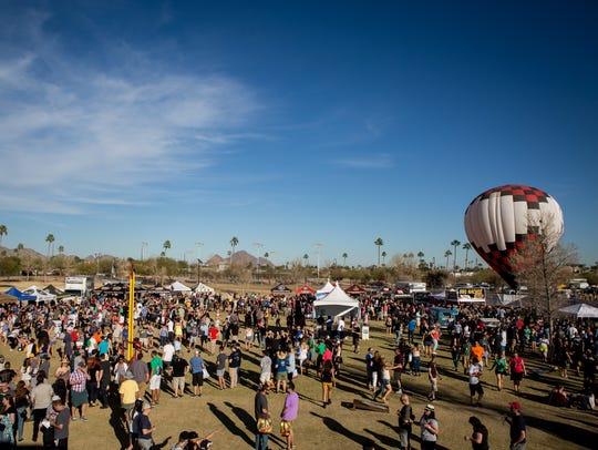 Thousands enjoyed the Arizona Strong Beer Festival