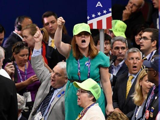 USP NEWS: REPUBLICAN NATIONAL CONVENTION A ELN USA OH