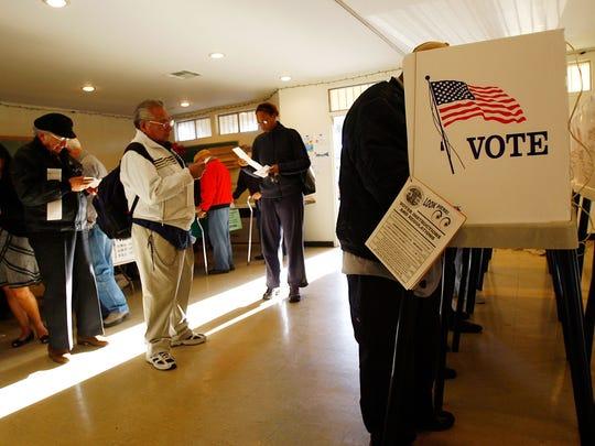 Si se presenta a votar, encontrará varias señalizaciones que marcaran ese zona en la que están protegidos los votantes.