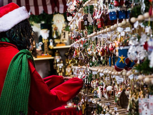 Baltimore's German Christmas Village offers shopping, food and photos with Santa Claus.