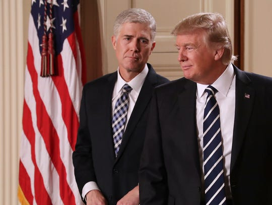 President Trump nominates Judge Neil Gorsuch to the