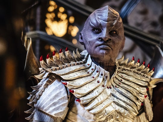 Mary Chieffo plays the Klingon L'Rell on CBS All Access's