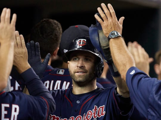 Brian Dozier leads the club with 32 homers.