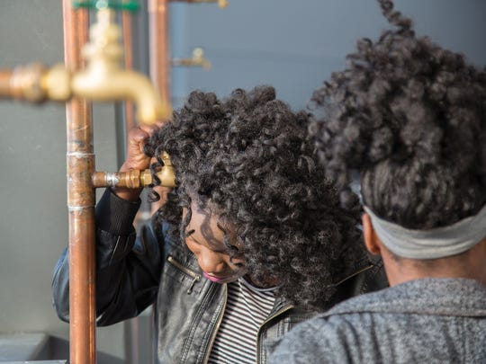 "The ""Beyond Streaming: A Sound Mural for Flint"" exhibit was inspired by the Flint Water Crisis, running from January to August at the Eli and Edythe Broad Art Museum."