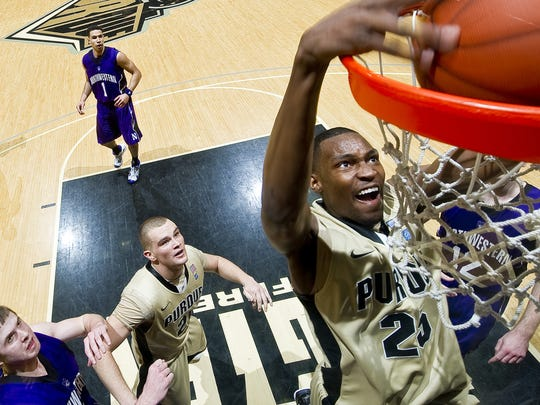 Purdue big man JaJuan Johnson.