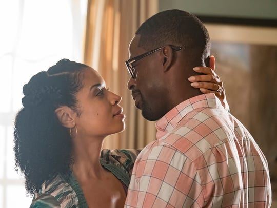 Beth (Susan Kelechi Watson), left, and Randall (Sterling