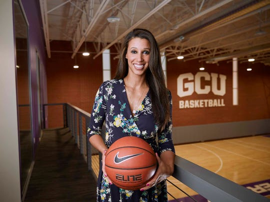 Nicole Powell is the GCU women's head coach.