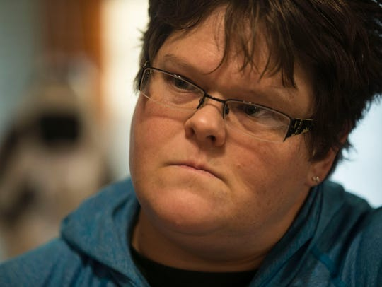 Tammy Thompson, of rural Monona, talks about her many