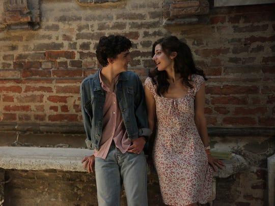 Elio (Timothée Chalamet) flirts with his friend Marzia
