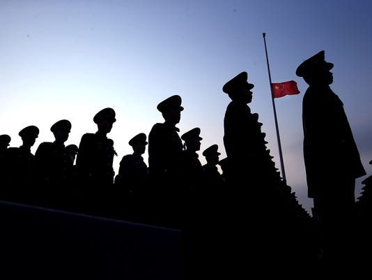 AP CHINA NANJING MEMORIAL I CHN