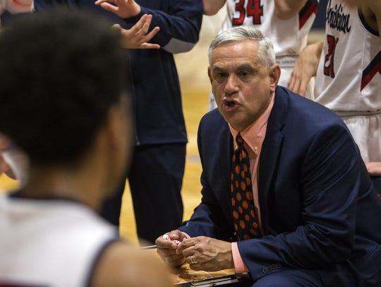 Scottsdale Christian head coach Bob Fredericks talks