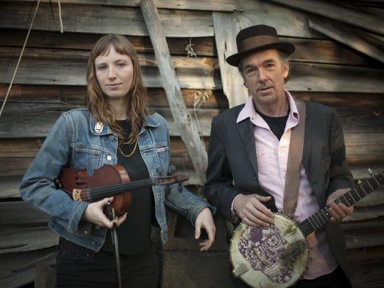 Richie Stearns and Rosie Newton