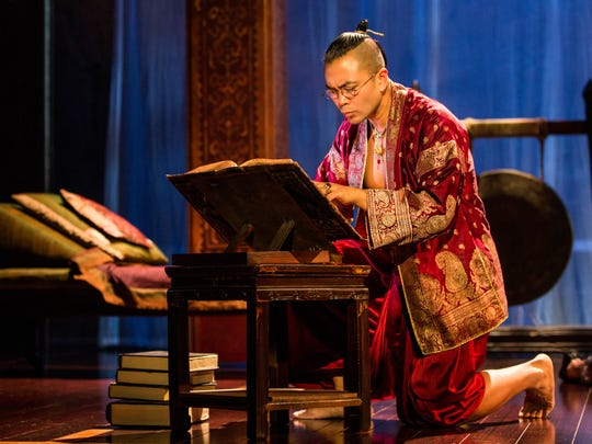 "Jose Llana as the King in Rodgers & Hammerstein's ""The King and I."""