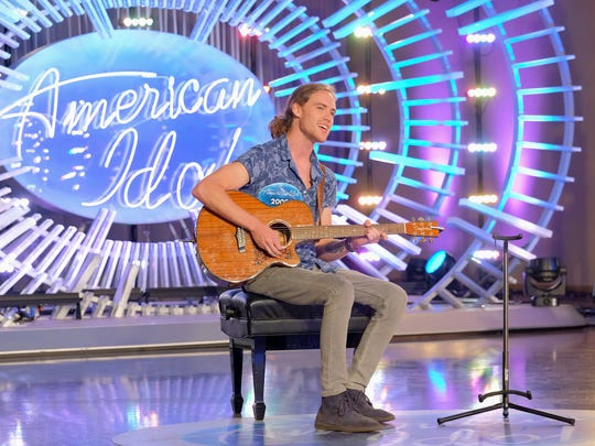 "Knoxville singer-songwriter David Francisco auditions for ""American Idol."""