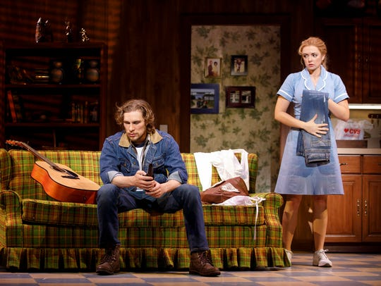 Nick Bailey and Desi Oakley star in the Broadway touring