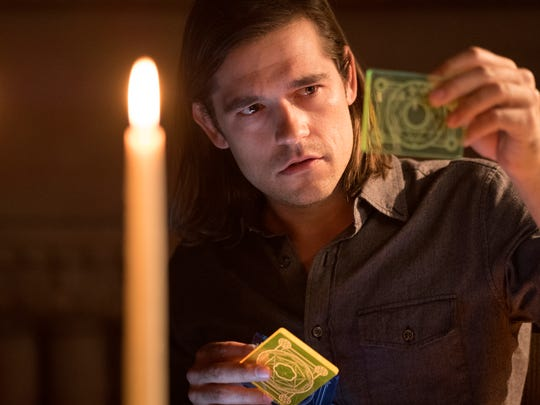 """The Magicians"" (Syfy): Based on the series of novels by Lev Grossman, ""The Magicians"" follows Jason Ralph, who discovers the world of magic is actually real -- and it's a danger to humanity."
