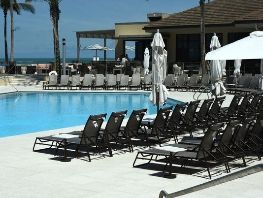 Your Tush Here Marco Hilton Offers Day Pass For Pool And Beach