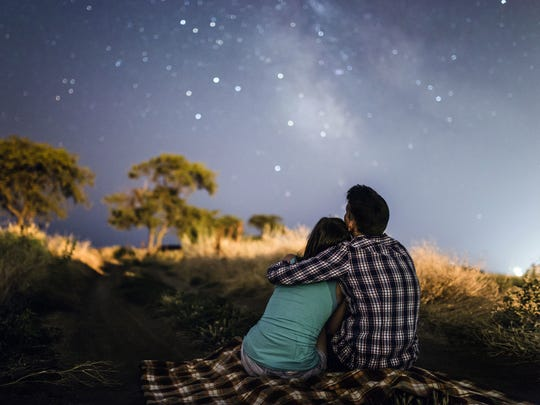 There are many opportunities for simple stargazing
