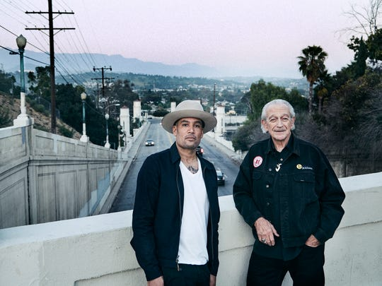 "Ben Harper says Charlie Musselwhite's musicianship ""raises me to a different level."""