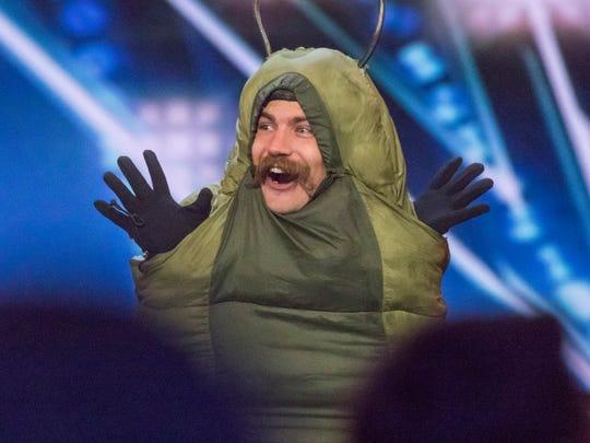 Sethward the downward caterpillar got a quick hook