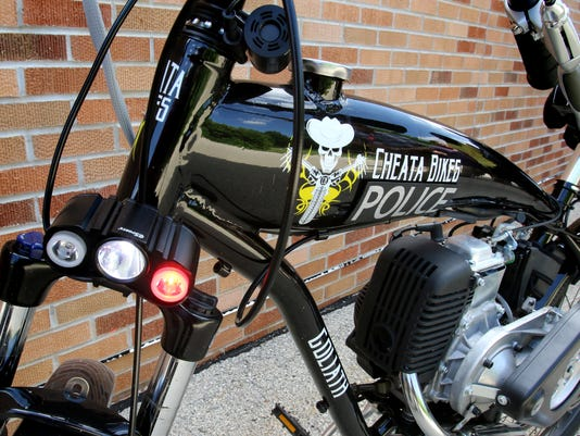 South Milwaukee PD motors on Cheata bicycles