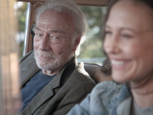 Christopher Plummer (left) and Vera Farmiga play a
