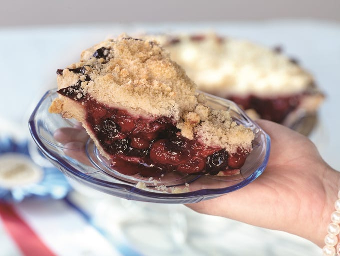 The retro-styled Sweetie-licious Bakery Café in DeWitt,