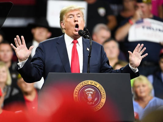 Donald Trump Holds MAGA Rally In Johnson City, Tennesee