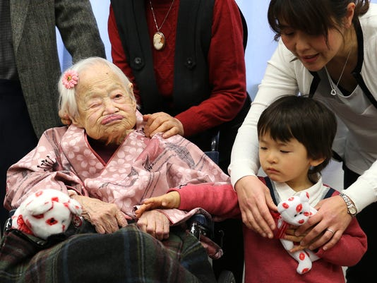 FILE - World's Oldest Person Misao Okawa Dies Weeks After Her 117 Birthday