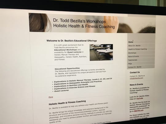 Todd Bezilla's holistic health and fitness coaching website.