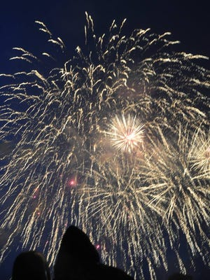 Fireworks will light up the sky in Carrizozo on July 4.