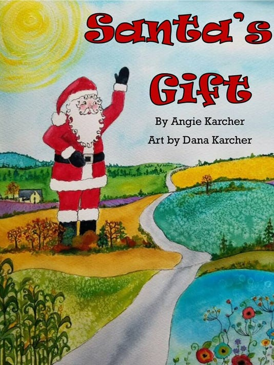 Santa's Gift santa claus book cover