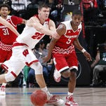 The Badgers appeared tired and stunned in the closing minutes.
