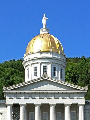 The Vermont Statehouse in Montpelier.