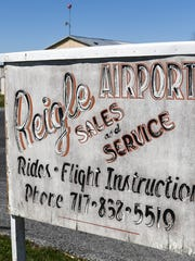 Reigle Airport in South Londonderry Township opened