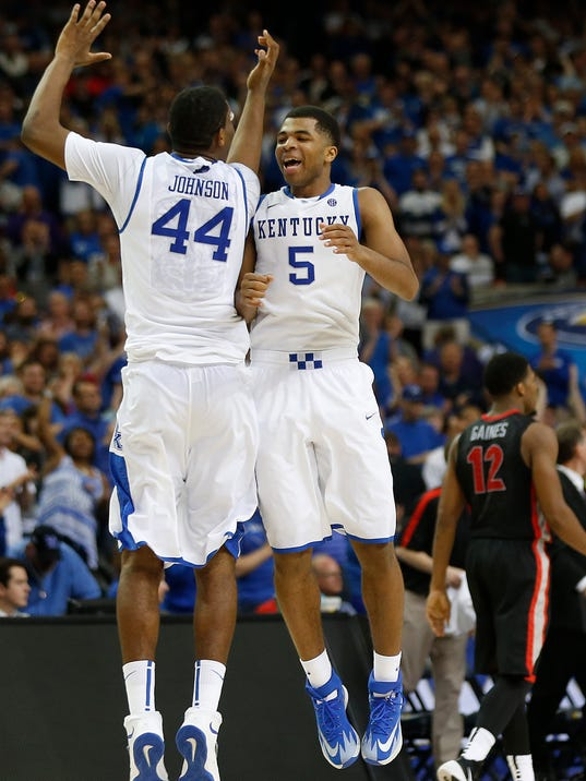 AP SEC Kentucky Georgia Basketball