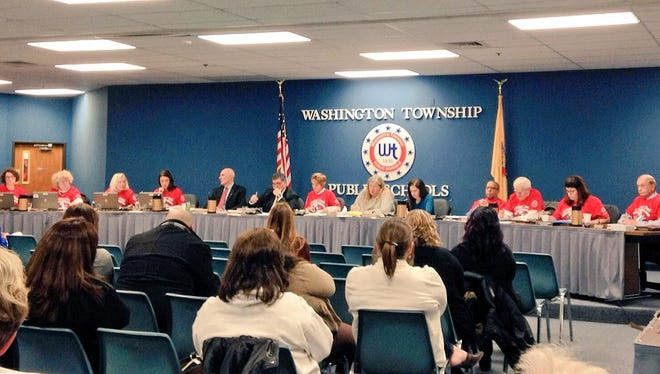 Washington Township Board of Education votes on a controversial redistricting plan.