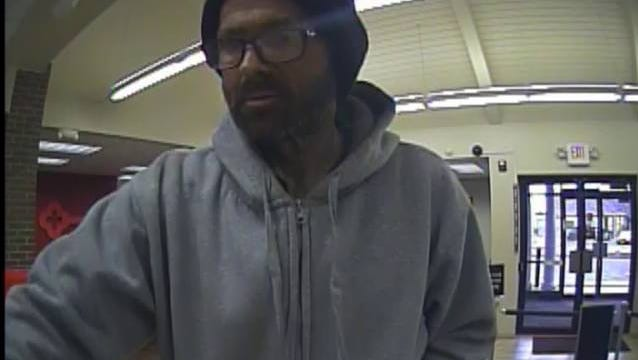 Fremont police are looking for this suspect after a Tuesday afternoon robbery at Key Bank on Oak Harbor Road. The police received a call about the robbery at 3:55 p.m.