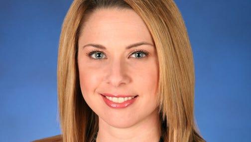 Nicole Misencik, WTHR meteorologist.