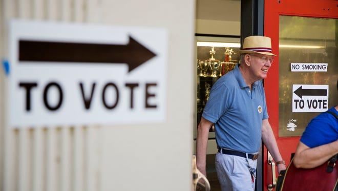 Voters cast ballots on July 26, 2016, in Atlanta.