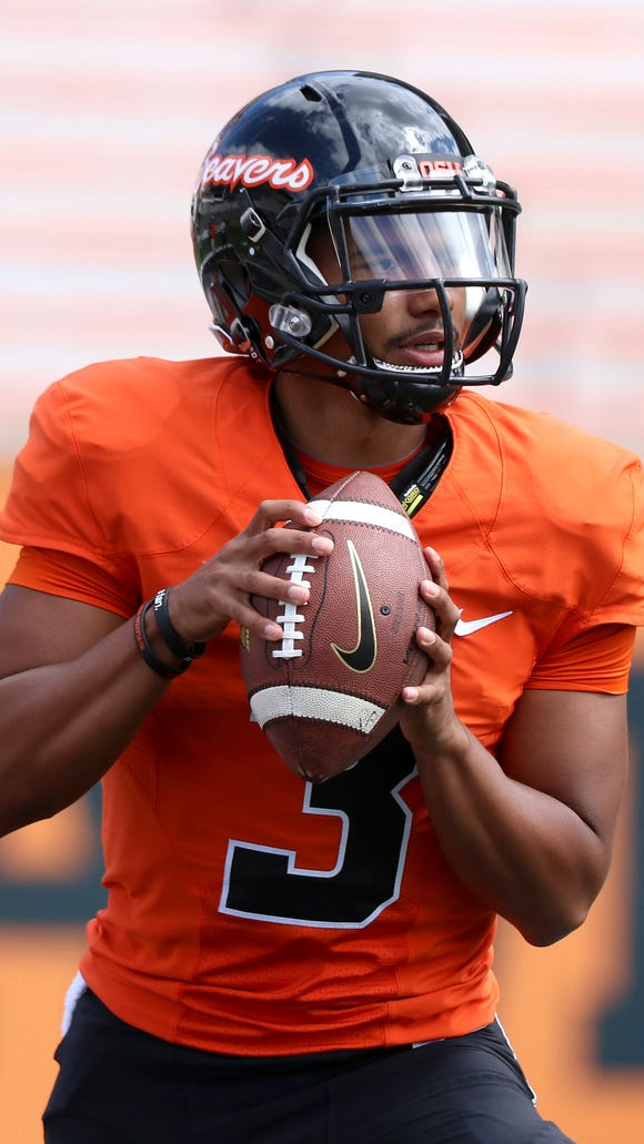 Oregon State quarterback will play in his first college